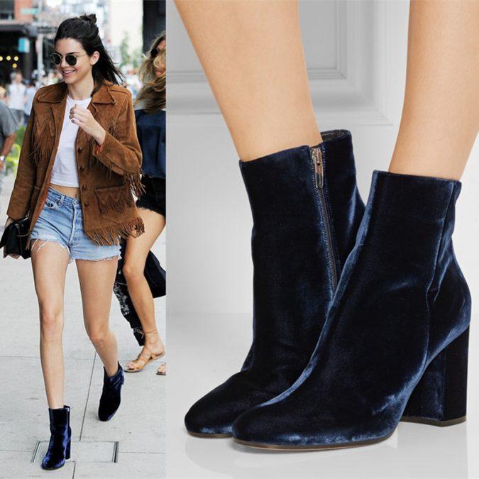velvet-women-boots6-675x675 5 Main Women Shoe Trends for 2018