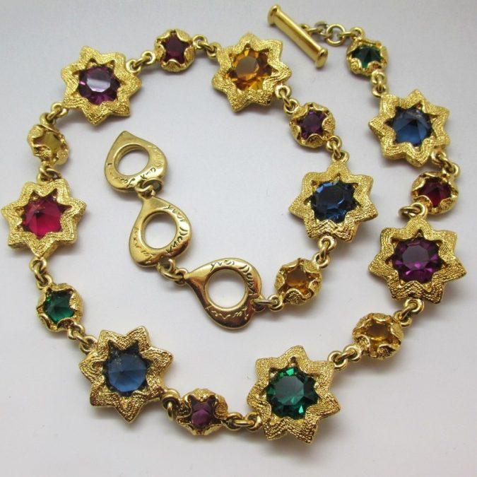 vintage-yves-saint-laurent-multi-colour-star-cabochon-necklace-a9983-800x800-675x675 6 Hottest Necklace Trends For Summer 2020