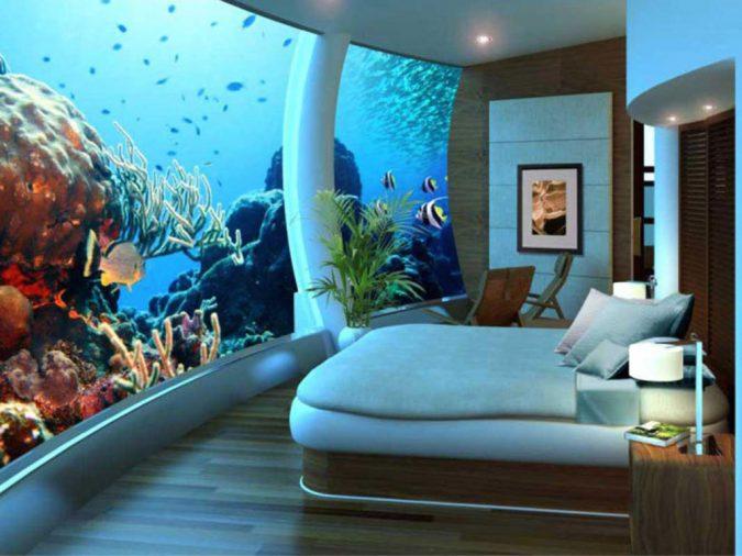 wall-fish-tank-decor-675x506 7 Design Ideas for Teens' Bedrooms