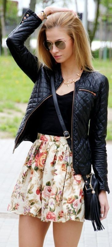 women-leather-jackets-2017-11 80+ Most Stylish Leather Jacket Trends for Women (Updated List)