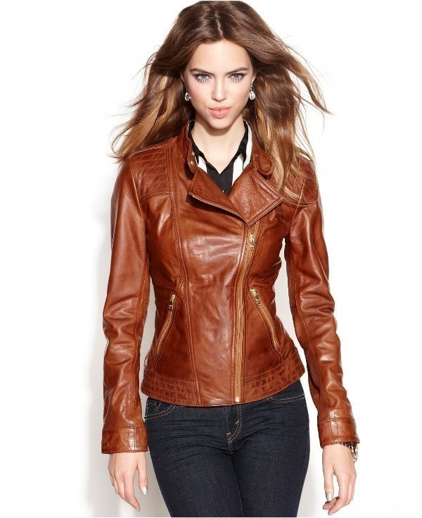 women-leather-jackets-2017-14 80+ Most Stylish Leather Jacket Trends for Women (Updated List)