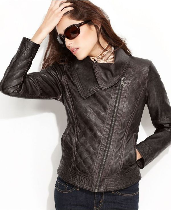 women-leather-jackets-2017-15 80+ Most Stylish Leather Jackets for Women in 2018