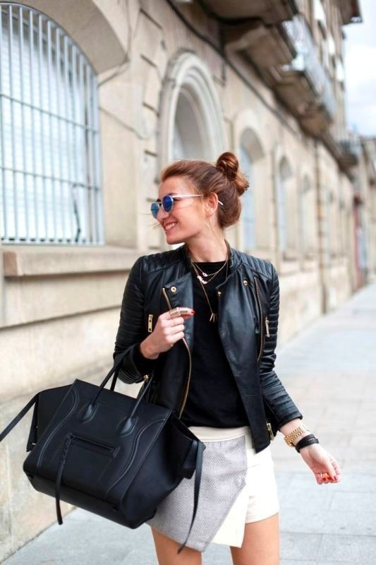 women-leather-jackets-2017-18 80+ Most Stylish Leather Jackets for Women in 2018