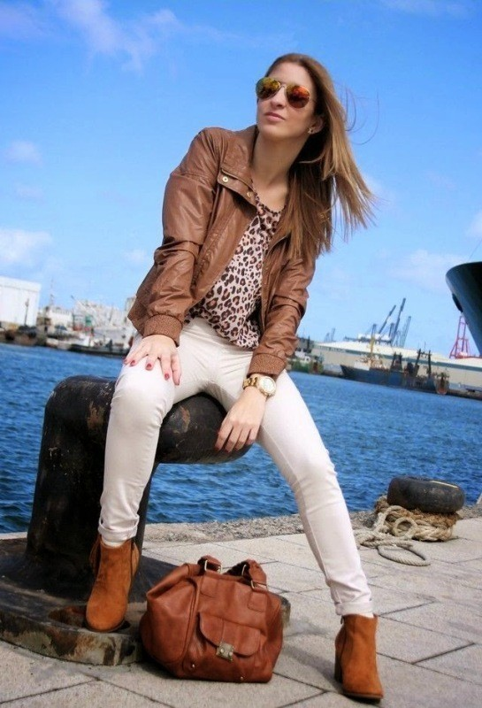 women-leather-jackets-2017-23 80+ Most Stylish Leather Jacket Trends for Women (Updated List)