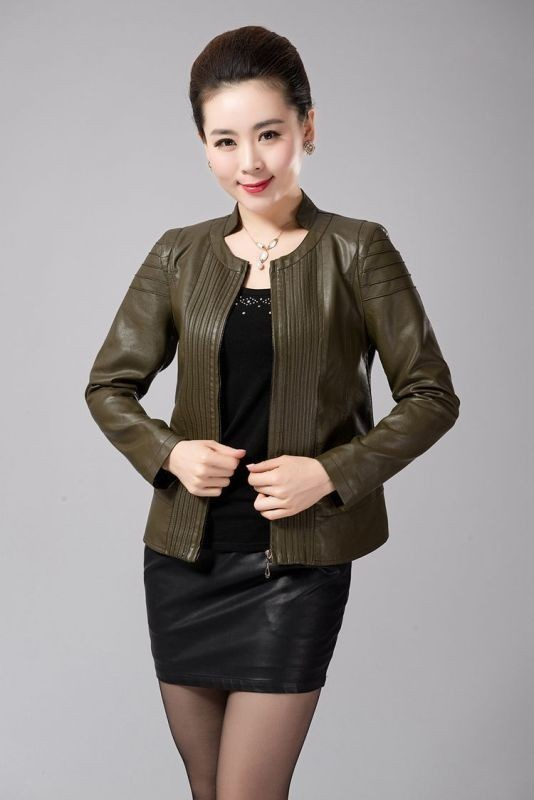 women-leather-jackets-2017-27 80+ Most Stylish Leather Jacket Trends for Women (Updated List)