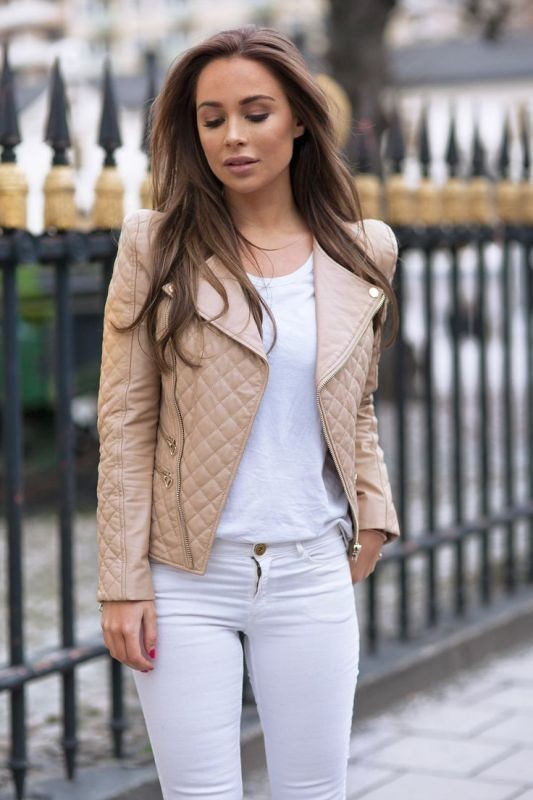 women-leather-jackets-2017-28 80+ Most Stylish Leather Jacket Trends for Women (Updated List)