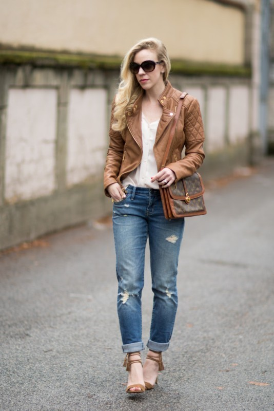women-leather-jackets-2017-34 80+ Most Stylish Leather Jacket Trends for Women (Updated List)