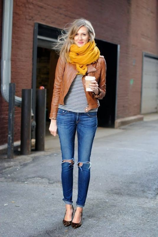 women-leather-jackets-2017-40 80+ Most Stylish Leather Jacket Trends for Women (Updated List)