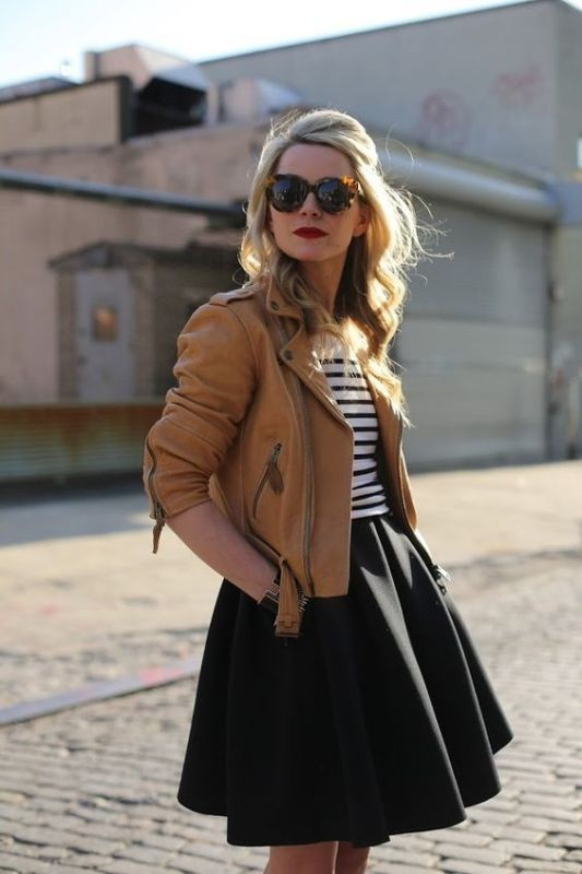 women-leather-jackets-2017-41 80+ Most Stylish Leather Jackets for Women in 2018