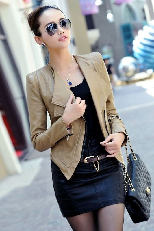 women-leather-jackets-2017-47 80+ Most Stylish Leather Jackets for Women in 2018