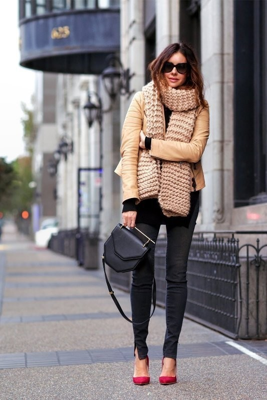 women-leather-jackets-2017-48 80+ Most Stylish Leather Jackets for Women in 2018