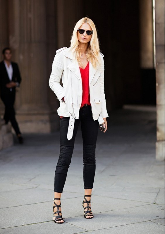 women-leather-jackets-2017-50 80+ Most Stylish Leather Jackets for Women in 2018