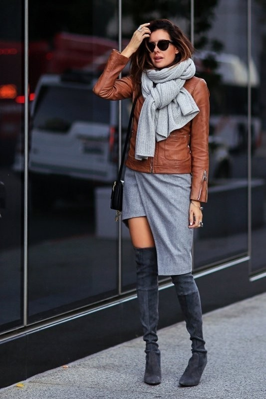 women-leather-jackets-2017-53 80+ Most Stylish Leather Jacket Trends for Women (Updated List)