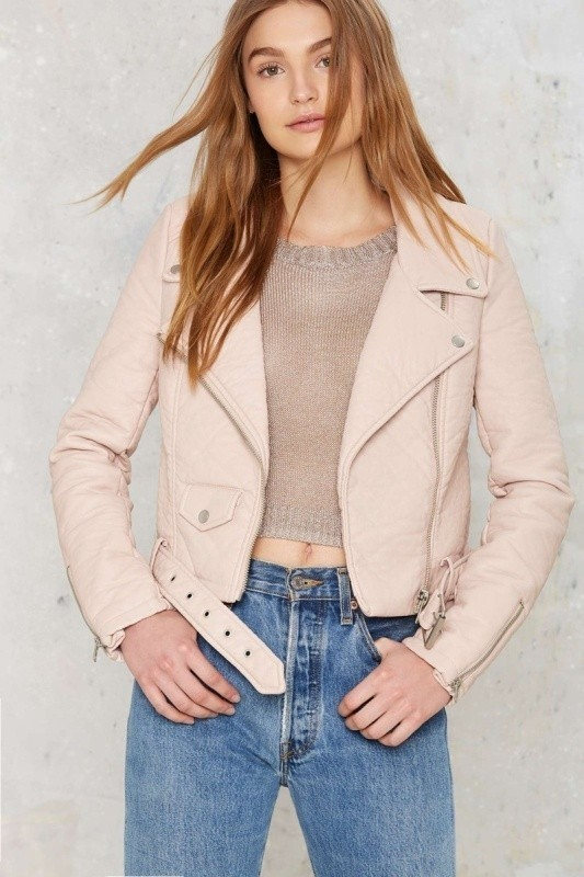 women-leather-jackets-2017-56 80+ Most Stylish Leather Jackets for Women in 2018