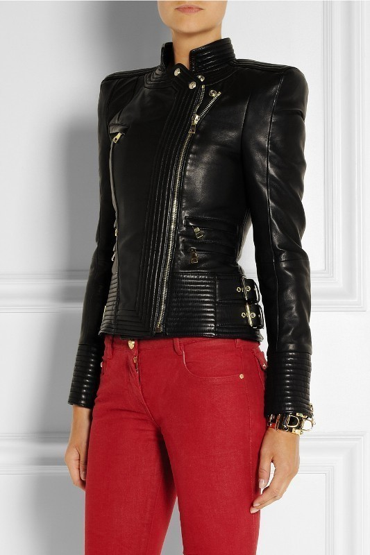 women-leather-jackets-2017-57 80+ Most Stylish Leather Jackets for Women in 2018