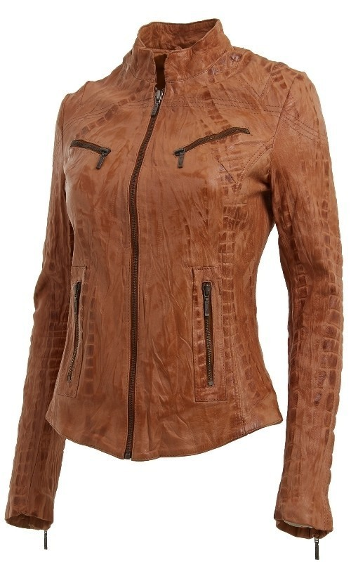 women-leather-jackets-2017-6 80+ Most Stylish Leather Jackets for Women in 2018