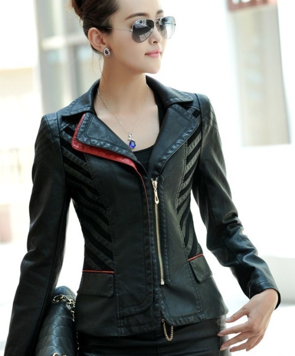 women-leather-jackets-2017-63 80+ Most Stylish Leather Jackets for Women in 2018