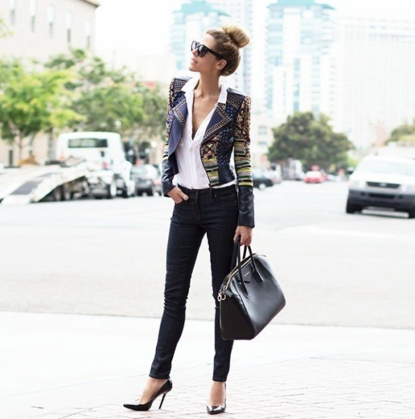 women-leather-jackets-2017-67 80+ Most Stylish Leather Jackets for Women in 2018