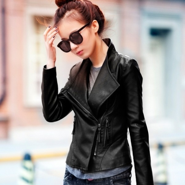 women-leather-jackets-2017-68 80+ Most Stylish Leather Jackets for Women in 2018