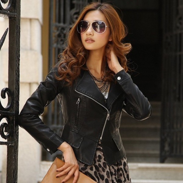 women-leather-jackets-2017-71 80+ Most Stylish Leather Jackets for Women in 2018