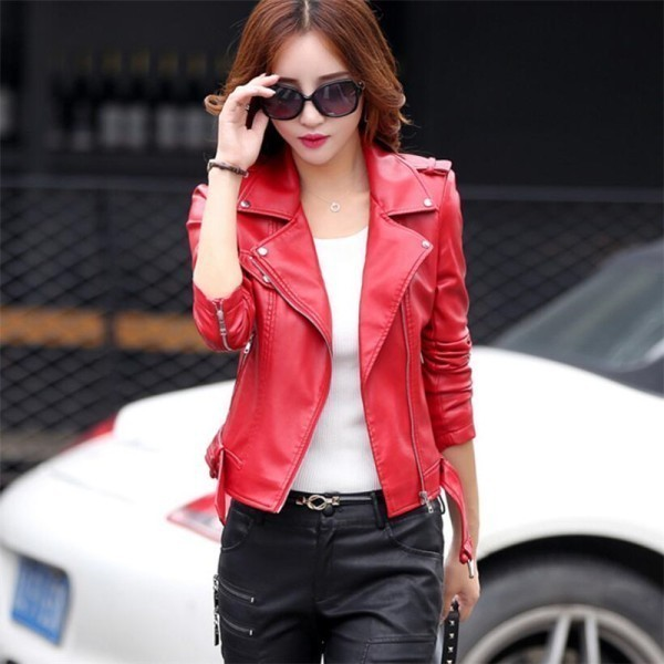 women-leather-jackets-2017-73 80+ Most Stylish Leather Jackets for Women in 2018