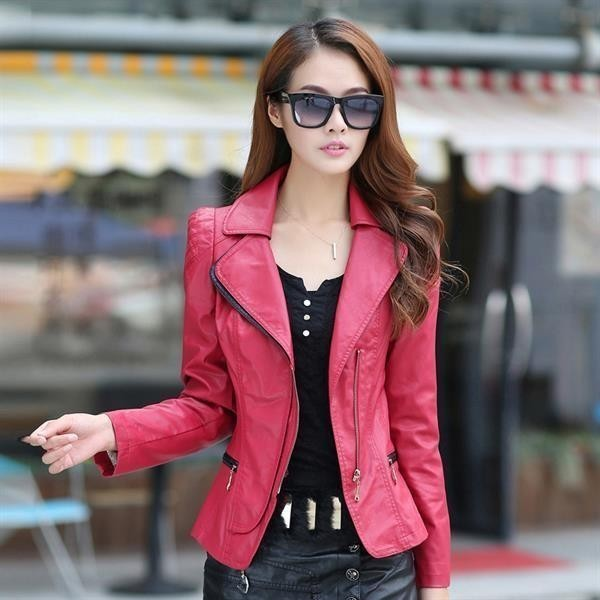 women-leather-jackets-2017-75 80+ Most Stylish Leather Jackets for Women in 2018