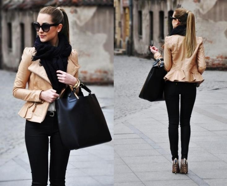 women-leather-jackets-2017-79 80+ Most Stylish Leather Jackets for Women in 2018