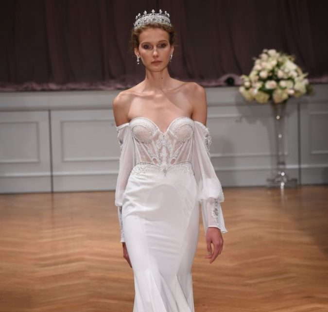‏‏alon-livne-white-bf17-21-نسخة-675x642 2018 Wedding dresses Trends for a Gorgeous-looking Brid
