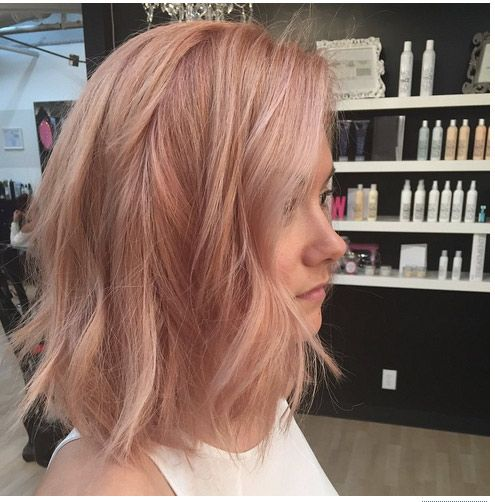 21 Celebrity Hair Color Trends For Spring And Summer 2017