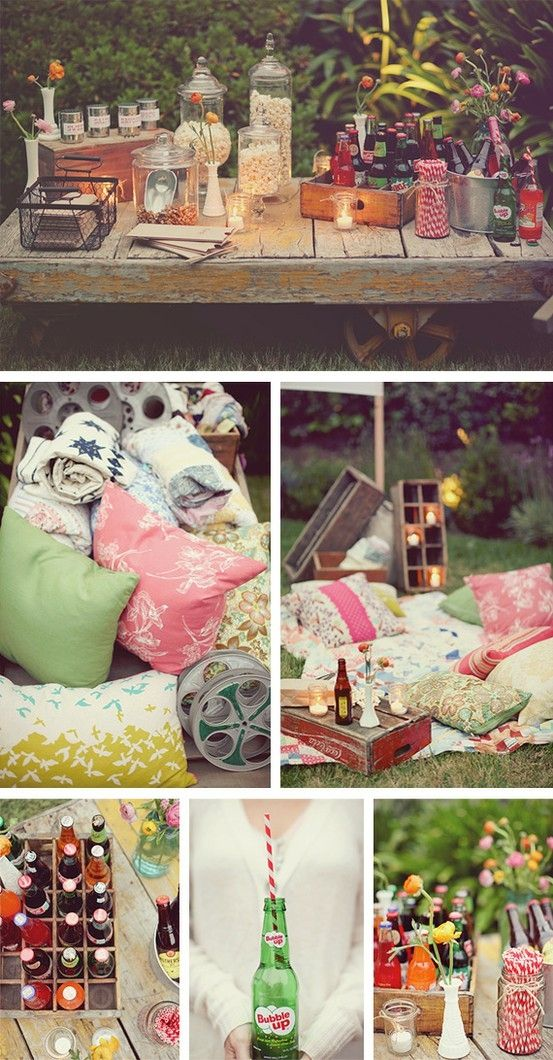 A-Backyard-Movie1 10 Best Outdoor Wedding Ideas in 2018