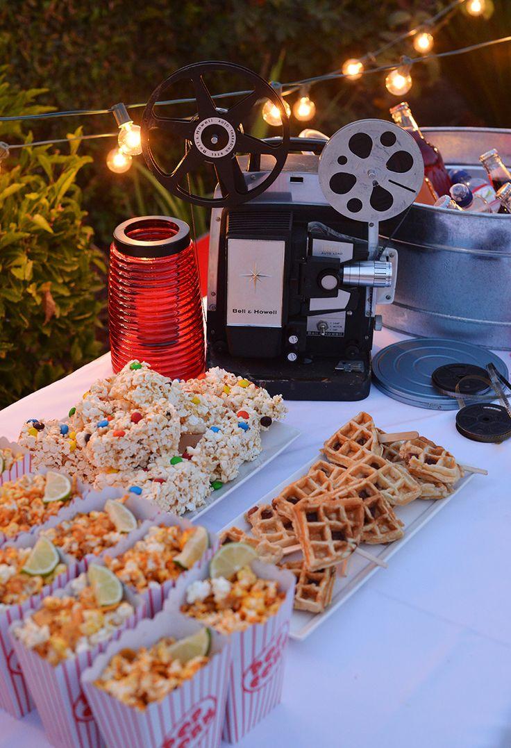 A-Backyard-Movie2 10 Hottest Outdoor Wedding Ideas in 2020