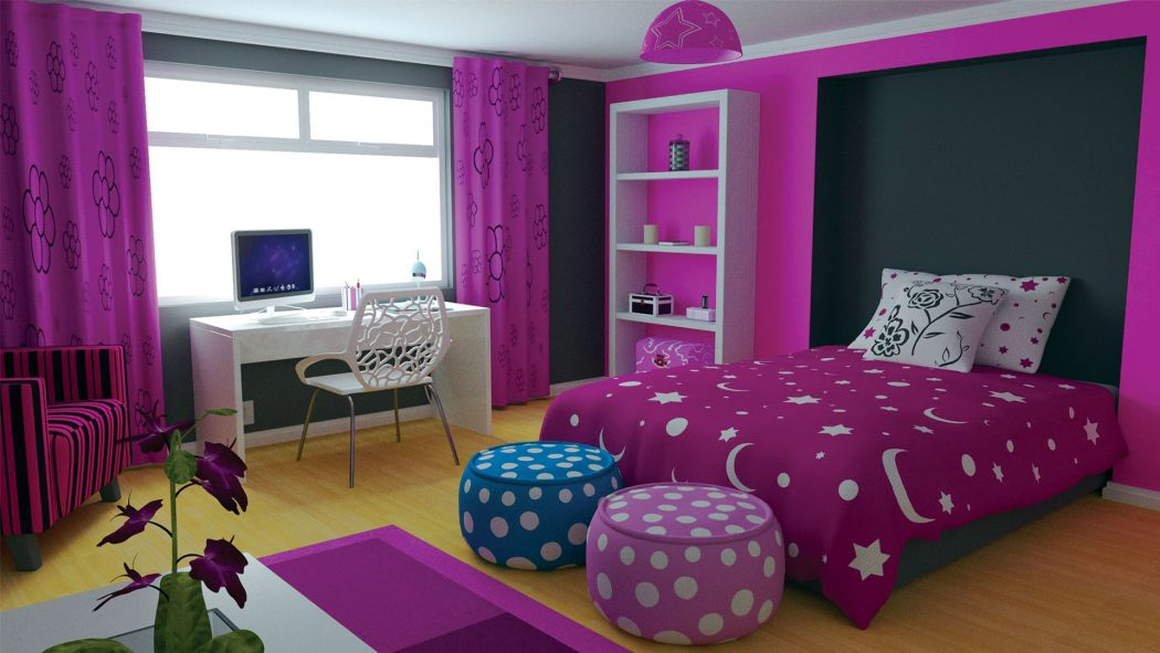 A-Corner-For-Assignments5 Top 5 Girls' Bedroom Decoration Ideas in 2018