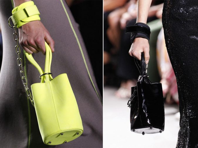 Alexander-Wang-Mini-Bucket-Bag-Spring-2017-675x506 6 Main Fashion Trends of Spring & Summer 2018