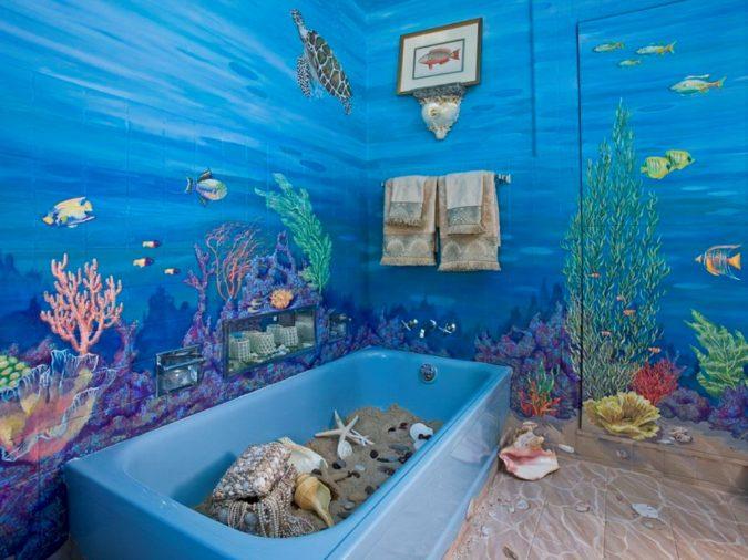Amazing-Nautical-Bathroom-Decor-675x506 5 Bathroom Designs of kids' Dreams