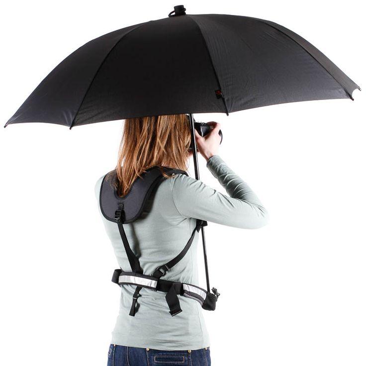 Backpack-Umbrella 15 Unusual Umbrellas Design Ideas