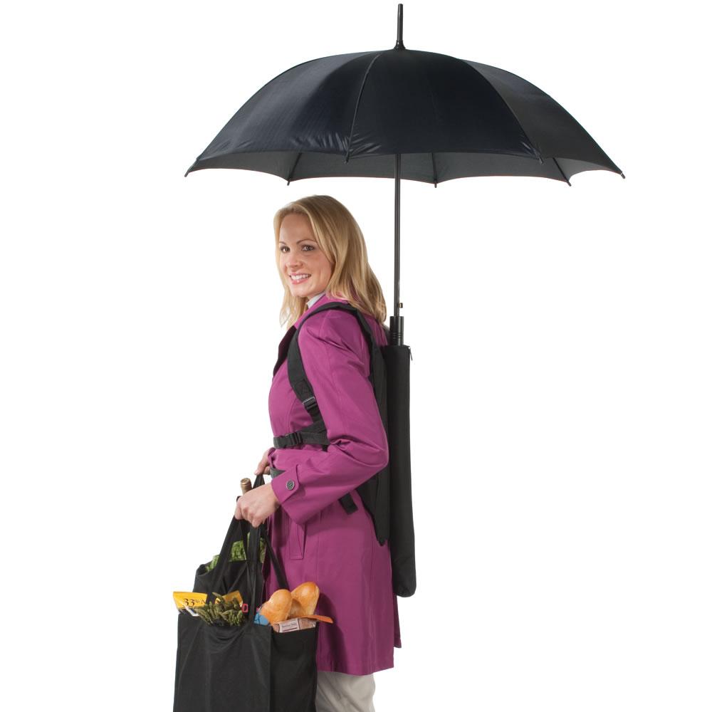 Backpack-Umbrella1 15 Unusual Umbrellas Design Ideas