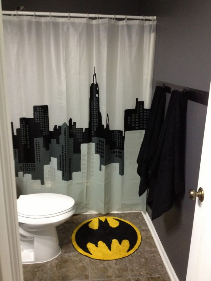 Batman-bath-rug-675x900 25+ Cutest Kids Bathroom Rugs for 2018