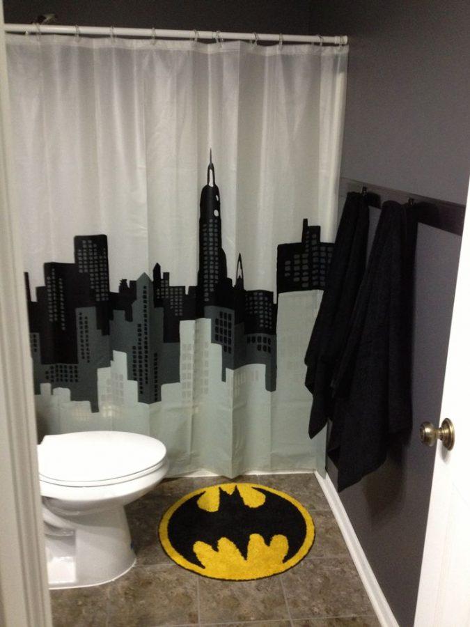 Batman-bath-rug-675x900 25+ Cutest Kids Bathroom Rugs for 2017