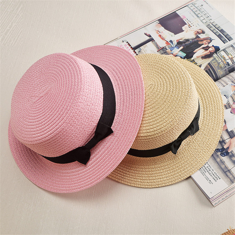 Boater-Sun-Hat3 10 Women's Hat Trends For Summer 2017