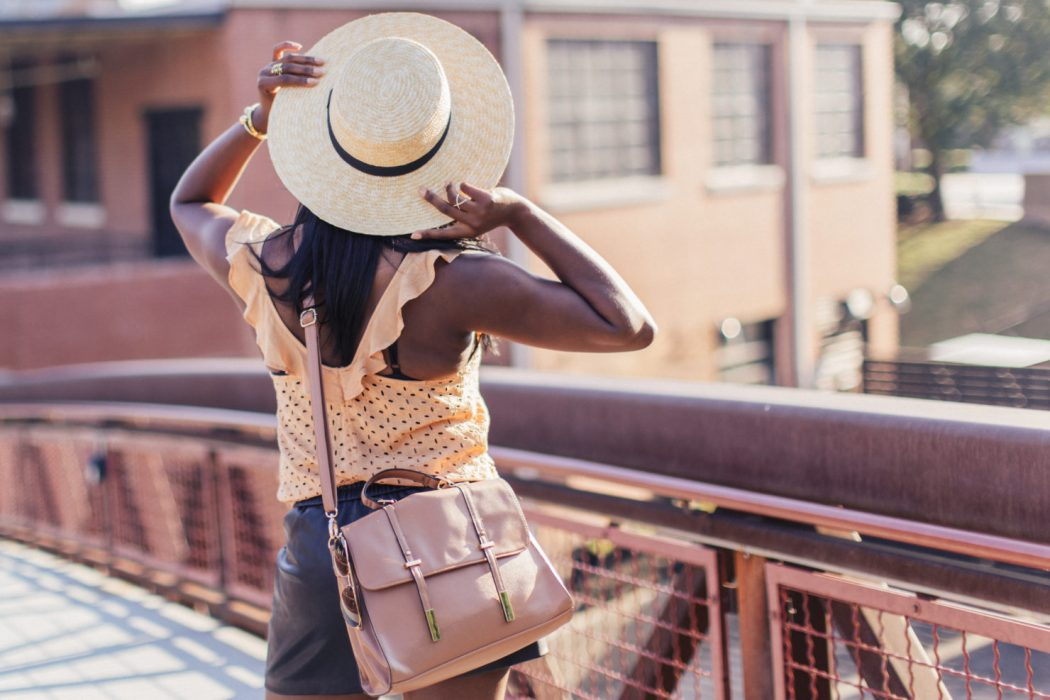 Boater-Sun-Hat4 10 Women's Hat Trends For Summer 2017
