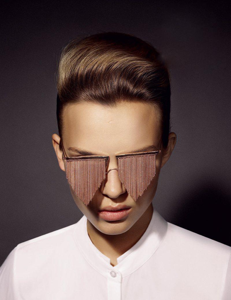 Chain-Fringe-Sunglasses1-Copy 12 Unusual Sunglasses trends in 2018
