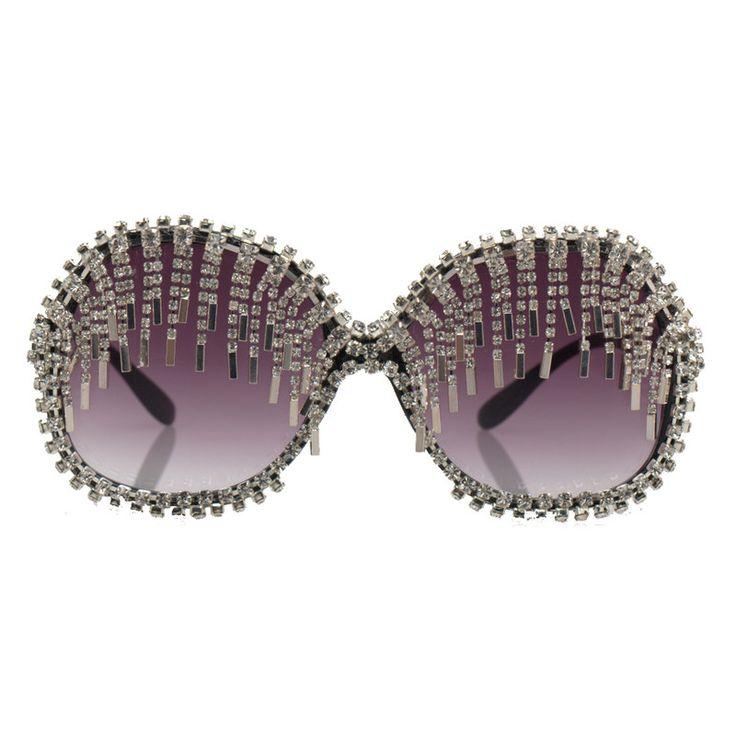 Chain-Fringe-Sunglasses2-Copy 12 Unusual Sunglasses trends in 2018