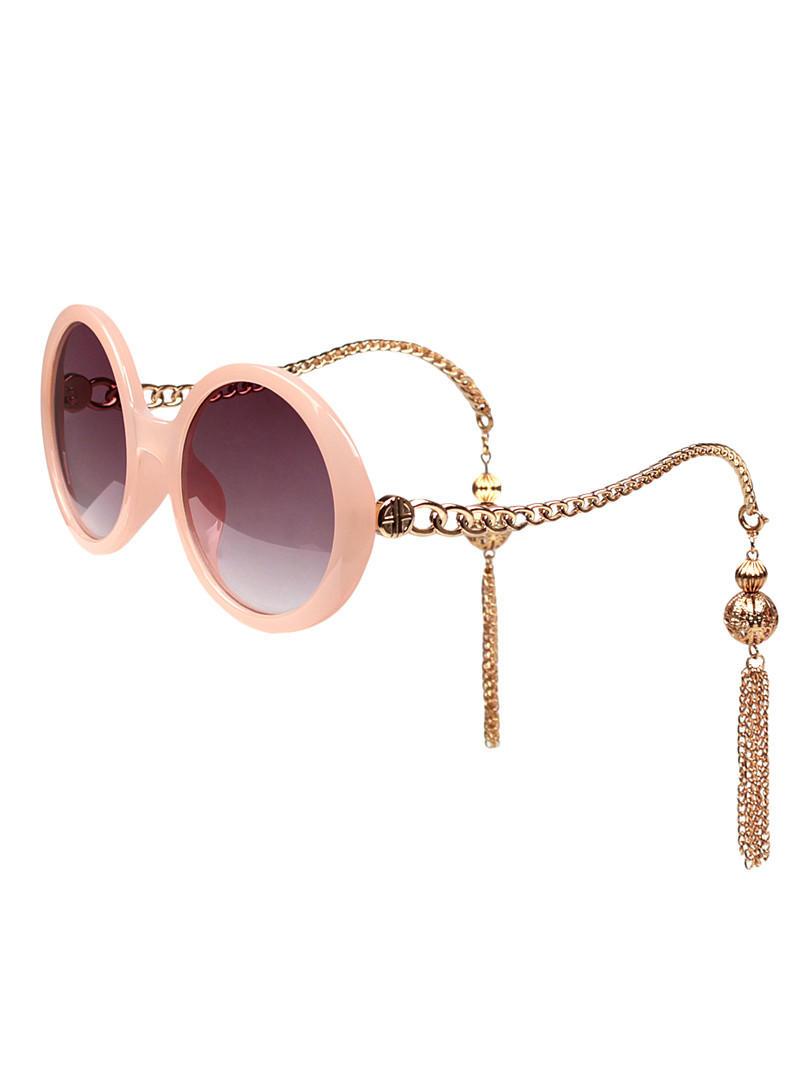 Chain-Fringe-Sunglasses3-Copy 12 Unusual Sunglasses trends in 2018