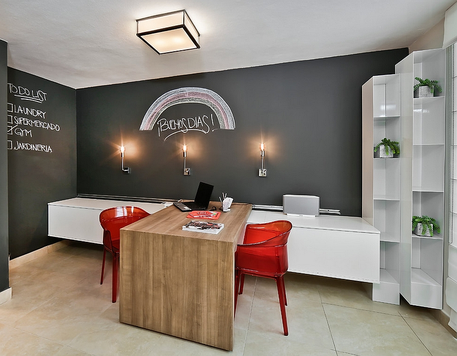 Chalkboard-Walls1 8 Highest Rated Office Decoration Designs For 2020