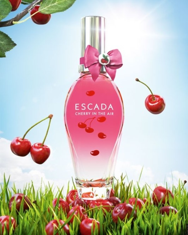 Cherry-in-the-Air-Escada-for-women +54 Best Perfumes for Spring & Summer