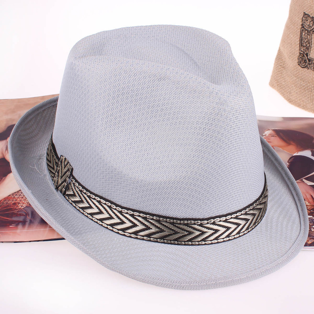 Chevron-banded-Fedora-Hat2 10 Women's Hat Trends For Summer 2018