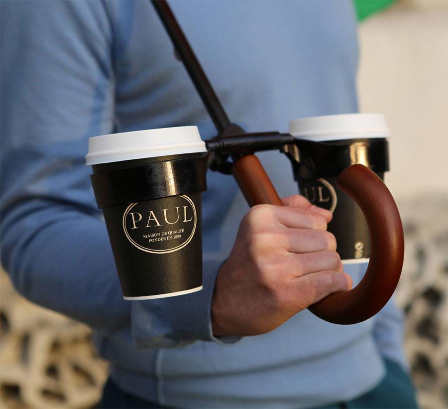 Coffee-Holder-Umbrella1 15 Unusual Umbrellas Design Ideas