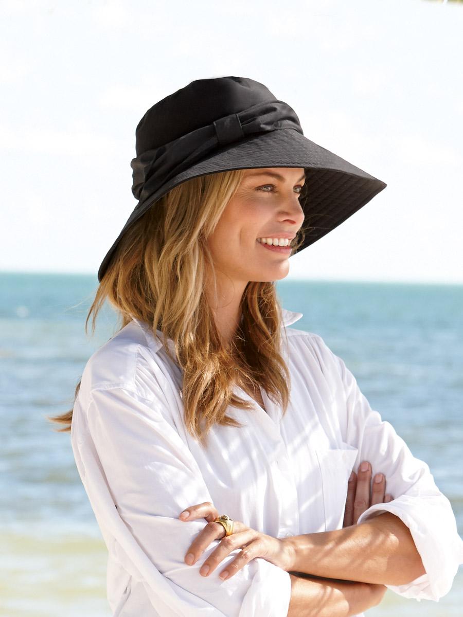 Cotton-Beach-Sun-Hats2 10 Women's Hat Trends For Summer 2018