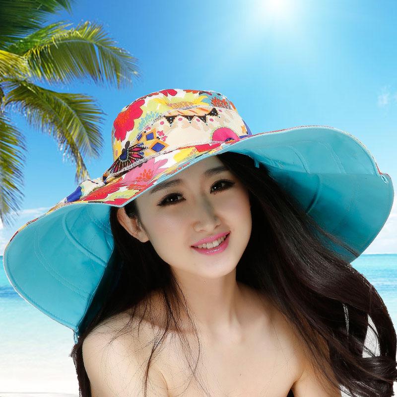 Cotton-Beach-Sun-Hats3 10 Women's Hat Trends For Summer 2020