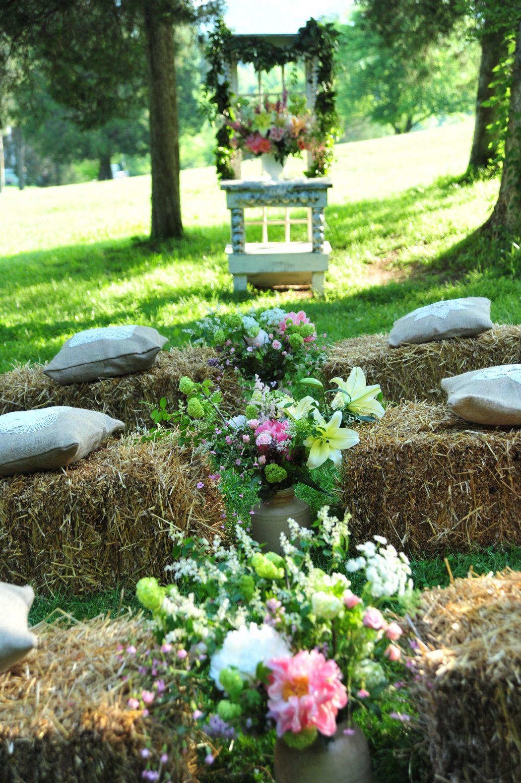 Create-Hay-Grass4 10 Hottest Outdoor Wedding Ideas in 2020